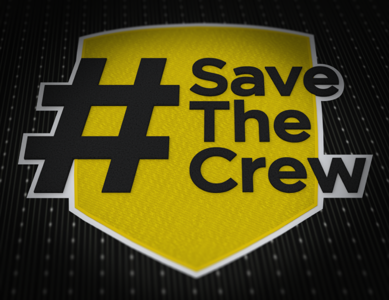 d84a9a188 RIGHT SLEEVE DETAIL  The Save The Crew hashtag logo. The mark of our  movement and the symbol that spreads it globally online.