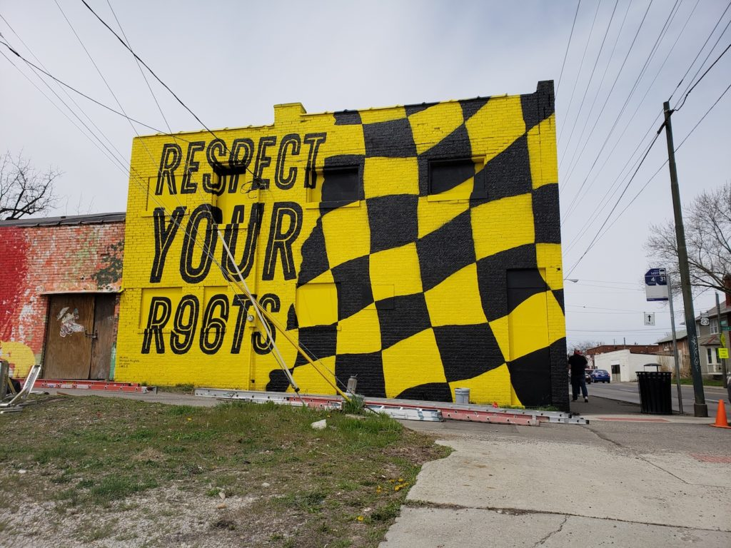 Respect Your Roots Mural